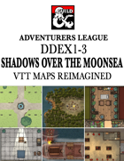 DDEX1-3 Shadows over the Moonsea VTT Maps Reimagined