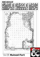 Print and play combat maps vol one