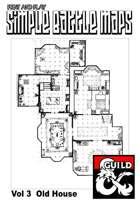 Print and play combat maps vol three