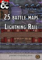 Battlemaps: Lightning Rail