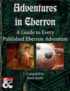 Adventures in Eberron: A Guide to Every Published Eberron Adventure