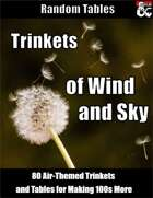 Trinkets of Sky and Wind - Elemental Air Creation Tables