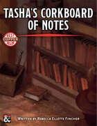 Tasha's Corkboard of Notes