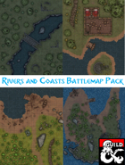 Rivers and Coasts Battlemap Pack