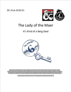 DC-PoA-KCB-01 The Lady of the Maer