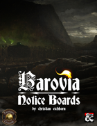 Barovia Notice Boards | A Curse of Strahd Supplement (Fantasy Grounds)