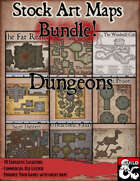 Stock Art Map Bundle 1 - Dungeons [BUNDLE]