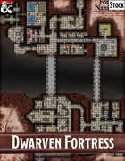 Elven Tower - Dwarven Fortress Nazammar | Stock Battlemap