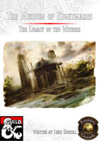 The Museum of Nightmares (Fantasy Grounds)