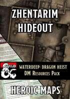 Waterdeep Dragon Heist: Zhentarim Hideout DM Resources Pack