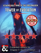 Ythryn Expanded Tower of Evocation - maps and extra content for Rime of the Frostmaiden