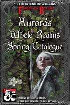 Aurora's Whole Realms Spring Catalogue