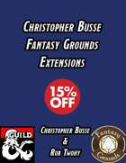 Chistopher Busse Fantasy Grounds Extensions [BUNDLE]