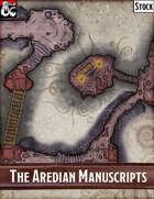 Elven Tower - The Aredian Manuscripts |32x19 Stock Battlemap