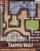 Elven Tower - Trapped Vault| 20x20 Stock Battlemap
