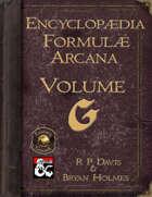 Encyclopaedia Formulae Arcana - G (Fantasy Grounds)