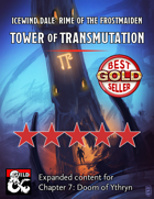 Ythryn Expanded Tower of Transmutation - maps and extra content for Rime of the Frostmaiden