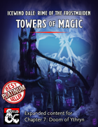 Ythryn Expanded Towers of Magic Bundle - maps and extra content for Rime of the Frostmaiden