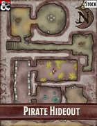 Elven Tower - Pirate Hideout | 19x25 Stock Battlemap