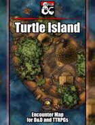 Turtle Island Battlemap w/Fantasy Grounds support - TTRPG Map