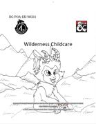 DC-PoA-EK-WC01 Wilderness Childcare