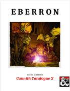 Cannith Catalogue 2 - An Eberron Equipment Supplement