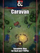 Caravan Battlemap w/Fantasy Grounds support - TTRPG Map