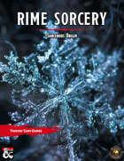 Rime Sorcery (Fantasy Grounds)