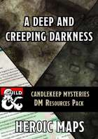 Candlekeep Mysteries: A Deep and Creeping Darkness DM Resources Pack