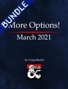 More Options! March 2021 [BUNDLE]