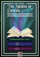 The Archive of Esoteric Previews