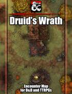 Druid's Wrath Battlemap w/Fantasy Grounds support - TTRPG Map