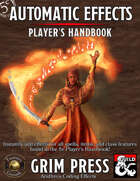5E Automatic Effects - Player's Handbook (Fantasy Grounds)