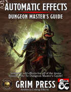 5E Automatic Effects - Dungeon Master's Guide (Fantasy Grounds)
