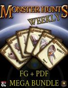 Monster Hunts Weekly: Mega Bundle [BUNDLE]