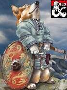 Feynine - A fey dogfolk race