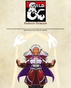 Passion Domain - A Cleric Divine Domain