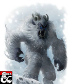 Bugbear Yeti - Player Character Race