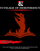 The Tutelage of Demonmancy for Wizards [D&D 5e (2021)]