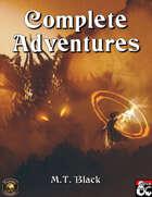 Complete Adventures of M.T. Black Vol. I (Fantasy Grounds)