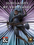 Subclasses of the Planes (Fantasy Grounds)