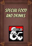 Special Food and Drinks