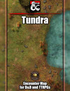 Tundra Battlemap w/Fantasy Grounds support