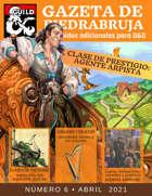 Gazeta de PiedraBruja 6: Clase de Prestigio Agente Arpista (Harpers)  para D&D 5e Español