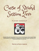 Curse of Strahd Session Zero Notes - Player Handout