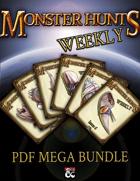 Monster Hunts Weekly PDF Mega Bundle [BUNDLE]