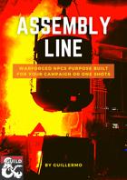 Assembly Line, Six Warforged NPCs
