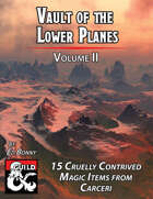 Vault of the Lower Planes, Carceri: Volume II