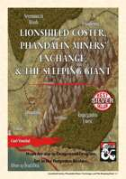 Lost Mines' Maps - Lionshield Coster, Phandalin Miners' Exchange and The Sleeping Giant