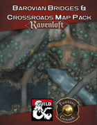 Barovian Bridges & Crossroads Map Pack (Fantasy Grounds)